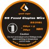 GeekVape Fused Clapton SS316 Tape Wire, 3m 28GA*2/+ 30GA