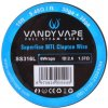 Vandy Vape Superfine MTL Clapton odporový drát SS316 3m