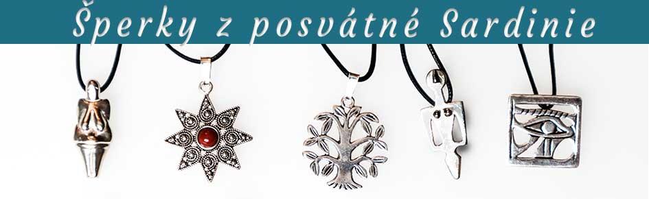 šperky z posvátné sardinie