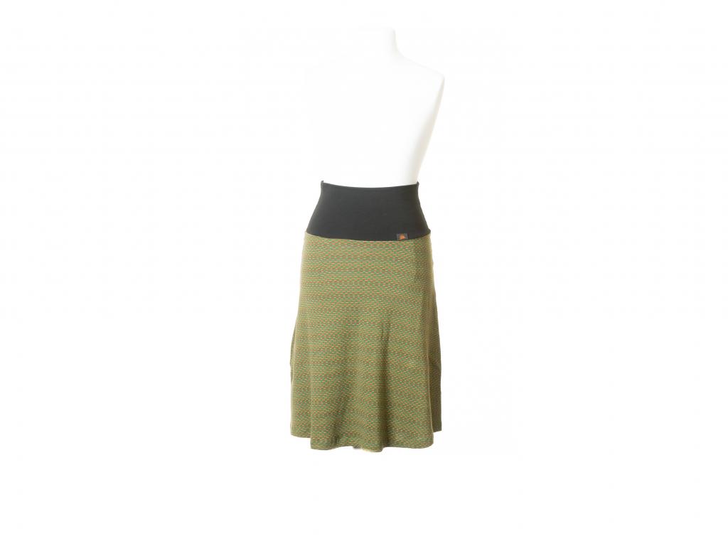 Elastická sukně polka