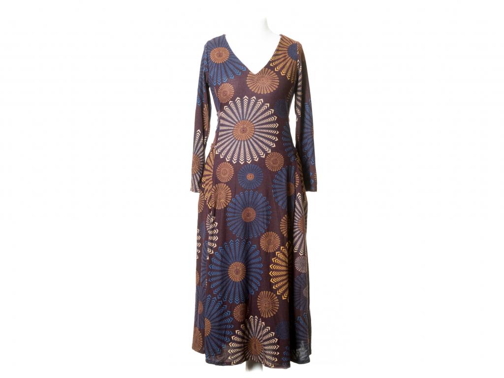 Dlouhé šaty Hékaté s vázankou
