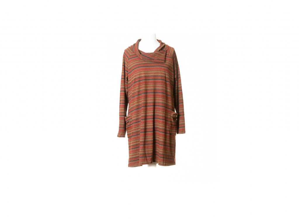 Krátké šaty Kétó s límcem