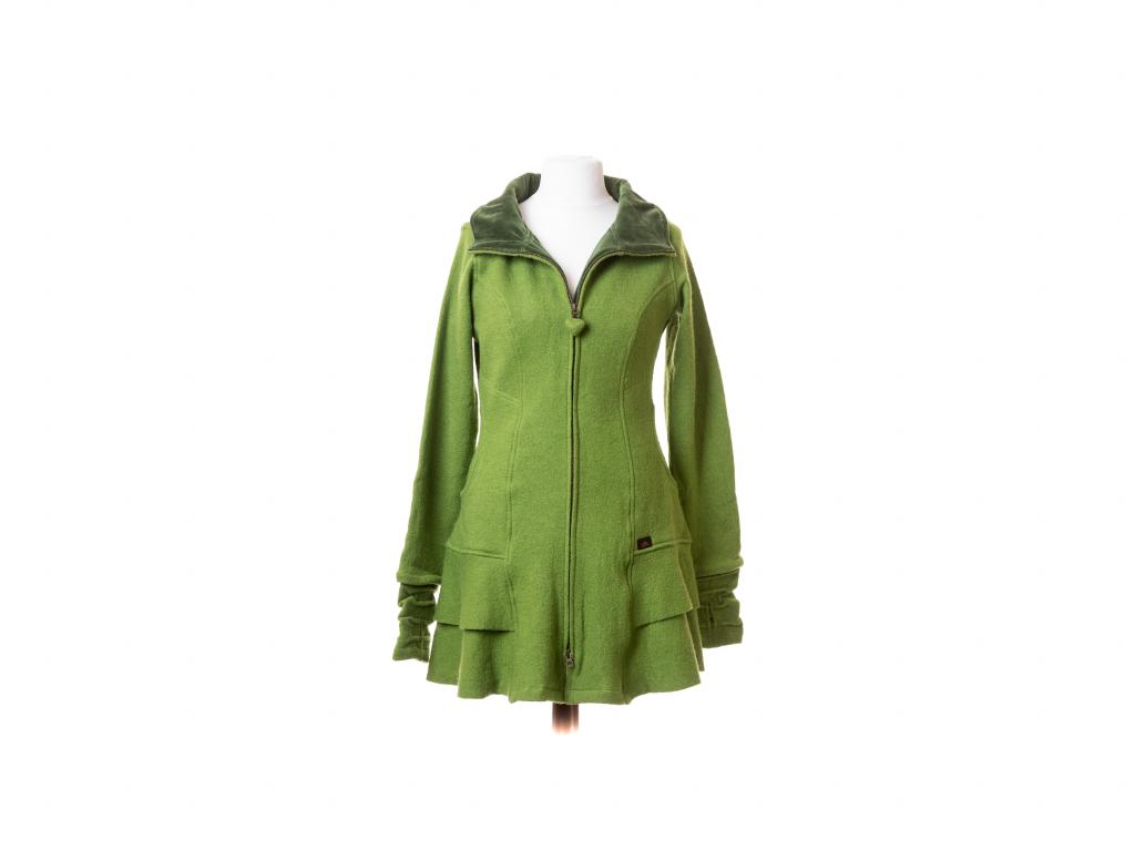 Polodlouhý kabátek Vesna