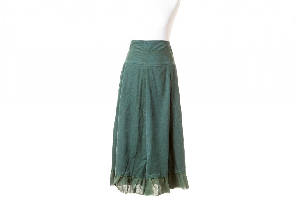Manšestrová sukně variabilní
