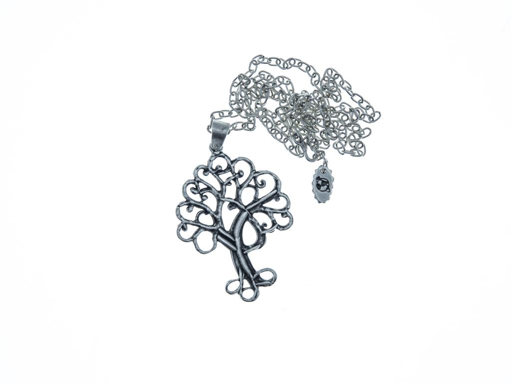 Náhrdelník ze zinkové slitiny Strom života