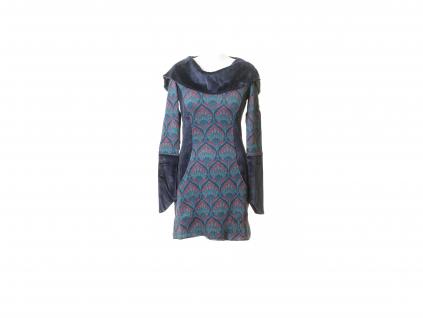 Krátké šaty Victoria s kapucou (tunika)