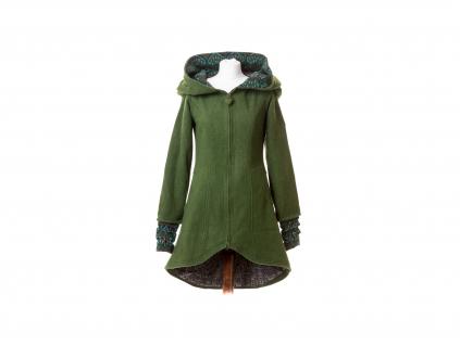 Polodlouhý kabát Harmonia