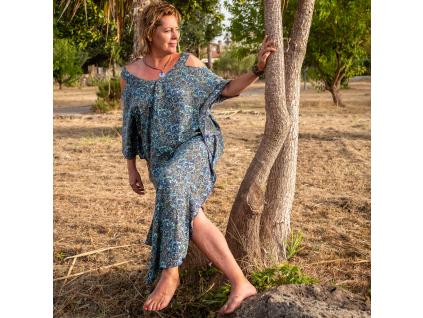 šaty Agra Kaftan long