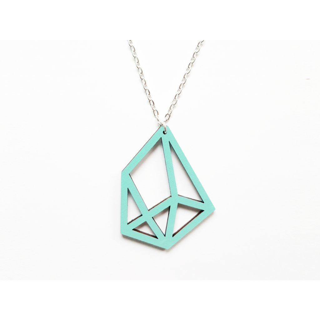 pendant diamond mint t