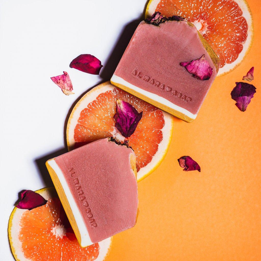 Mýdlo Almara Soap Růžový grep