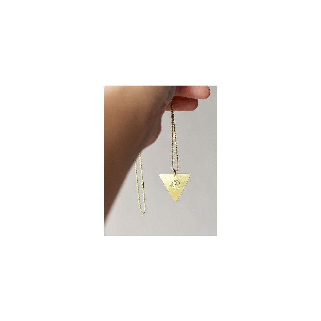 elephant triangle necklace (1)
