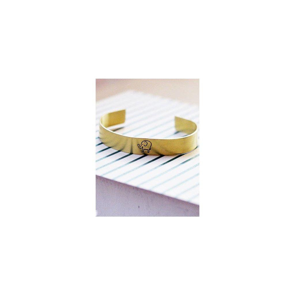 adjustable elephant cuff bangle bracelet