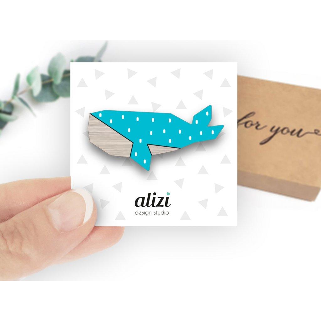 Br mini hand whale Tu