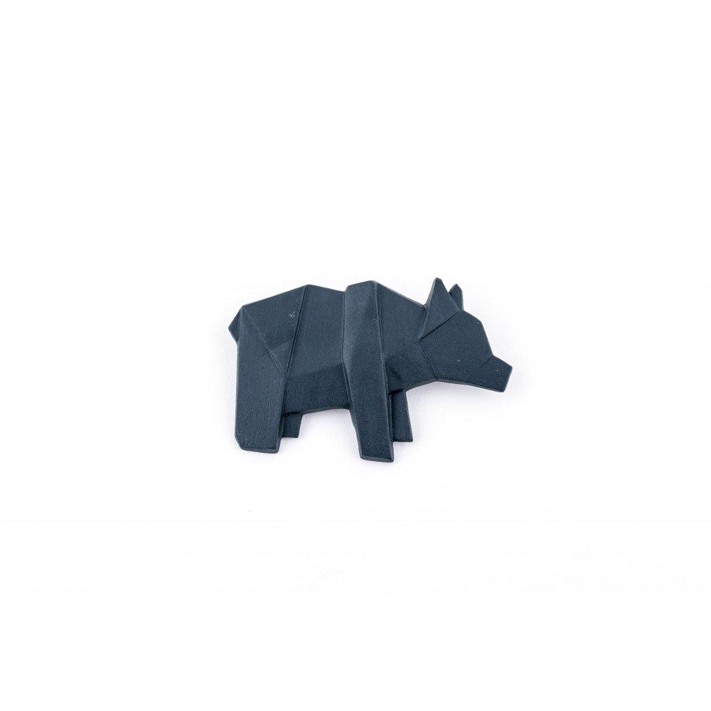 brož Stehlík Medvěd černý