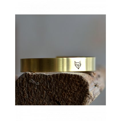 adjustable fox cuff bangle bracelet (1)