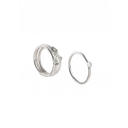 Queens Wood Studio by Anna Pleslová Photography Stacking Rings