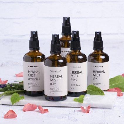 Pleťová voda Almara Soap Herbal mist Levandule