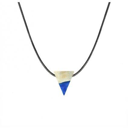 Náhrdelník Bekwood Triangl