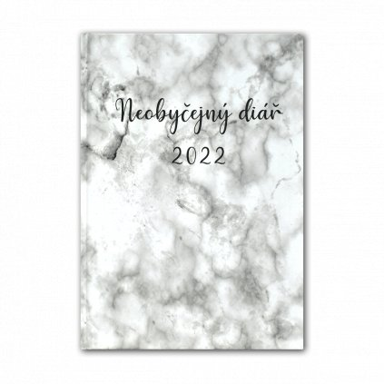 marble colorful diary