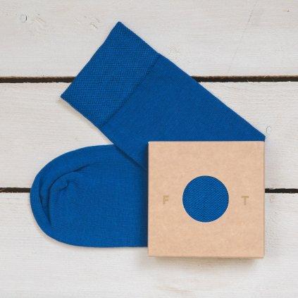 Ponožka Flashtones Tmavě Modrá