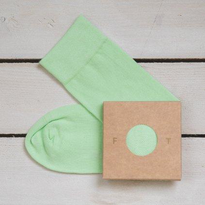 Ponožka Flashtones Mintová