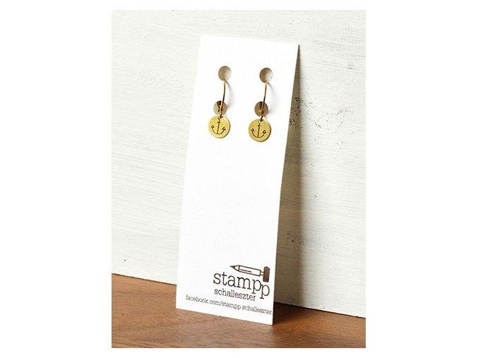 round cute anchor earrings (2)
