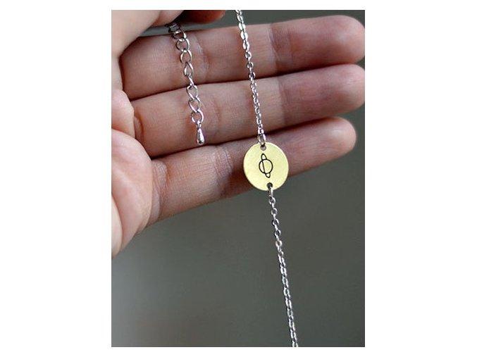 planet chain bracelet