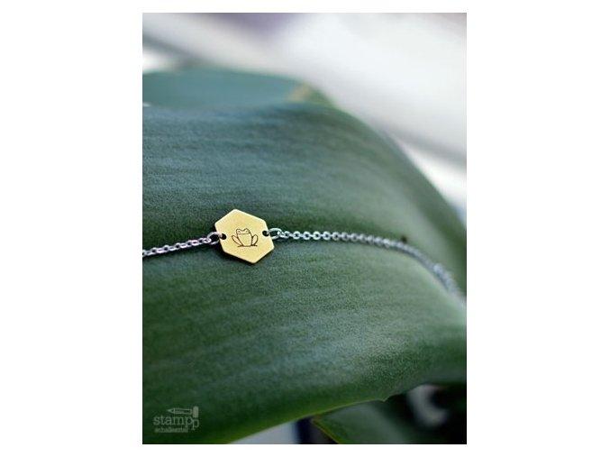 frog chain bracelet