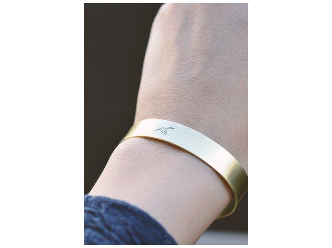 adjustable stork cuff bangle bracelet (1)