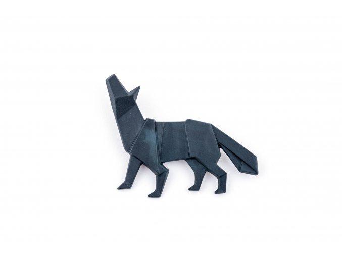 brož Stehlík Vlk černý