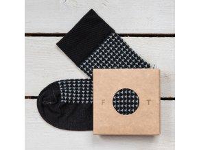 Ponožka Flashtones Černá