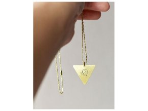 elephant triangle necklace (1)