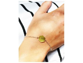 bee chain bracelet (1)