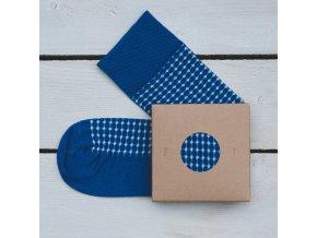 Ponožka Flashtones Modrá