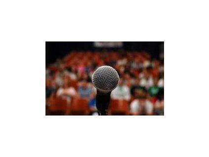 Mediální výcvik - veřejný projev