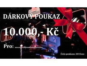 DÁRKOVÝ POUKAZ 10000,- Kč
