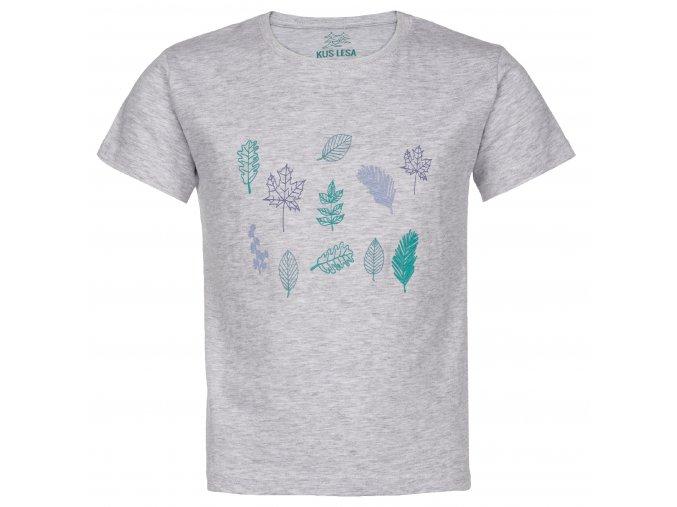 Dětské tričko do lesa - Listy
