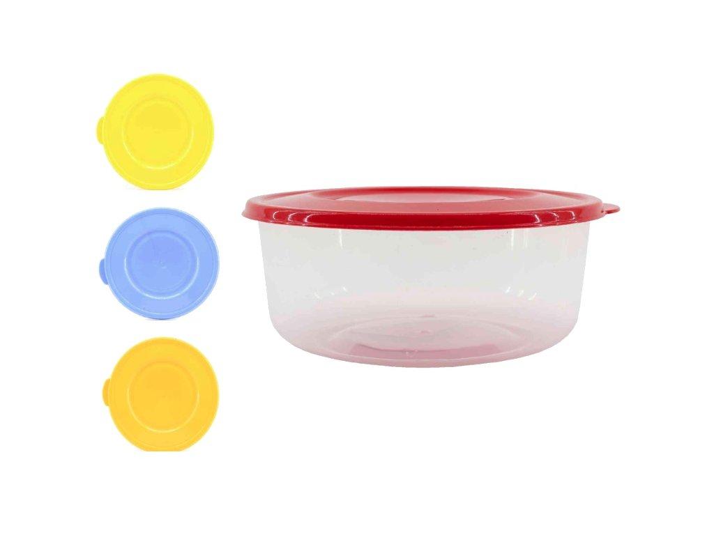 Dóza 0,35L kulatá nízká  STERK, mix barev