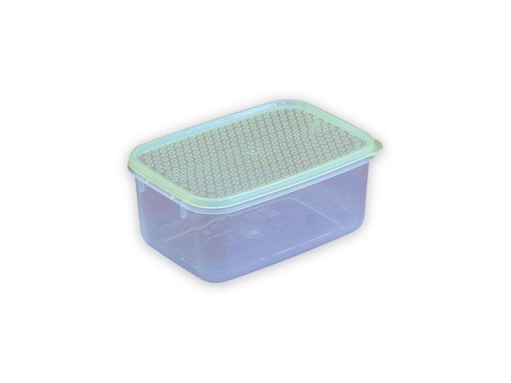 Dóza 1,2L obdelník MINIBOX, mix barev