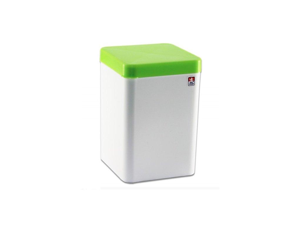 Dóza 3L čtverec krabice vysoká  CZ, mix barev