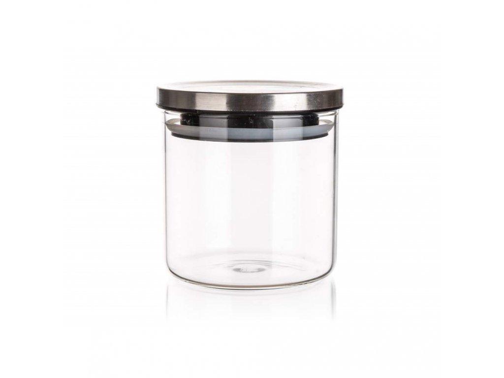 Dóza sklenice 0,65L s víčkem  FREIA