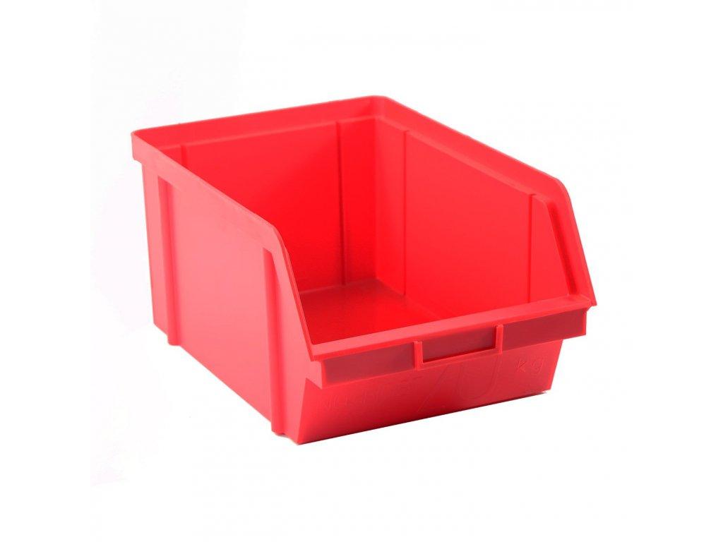 Bedna zkosená 16x10x7cm 2,5kg červená  CZ