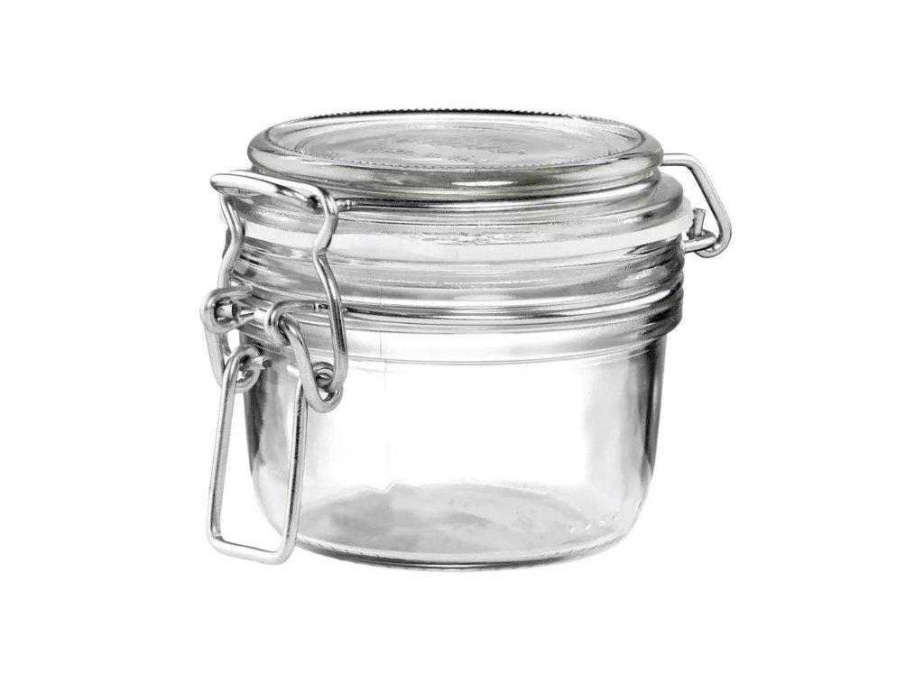 Dóza sklenice patentní 0,125L  FIDO