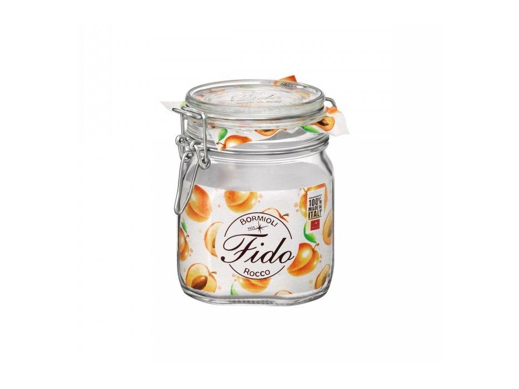 Dóza sklenice patentní 0,5L  FIDO