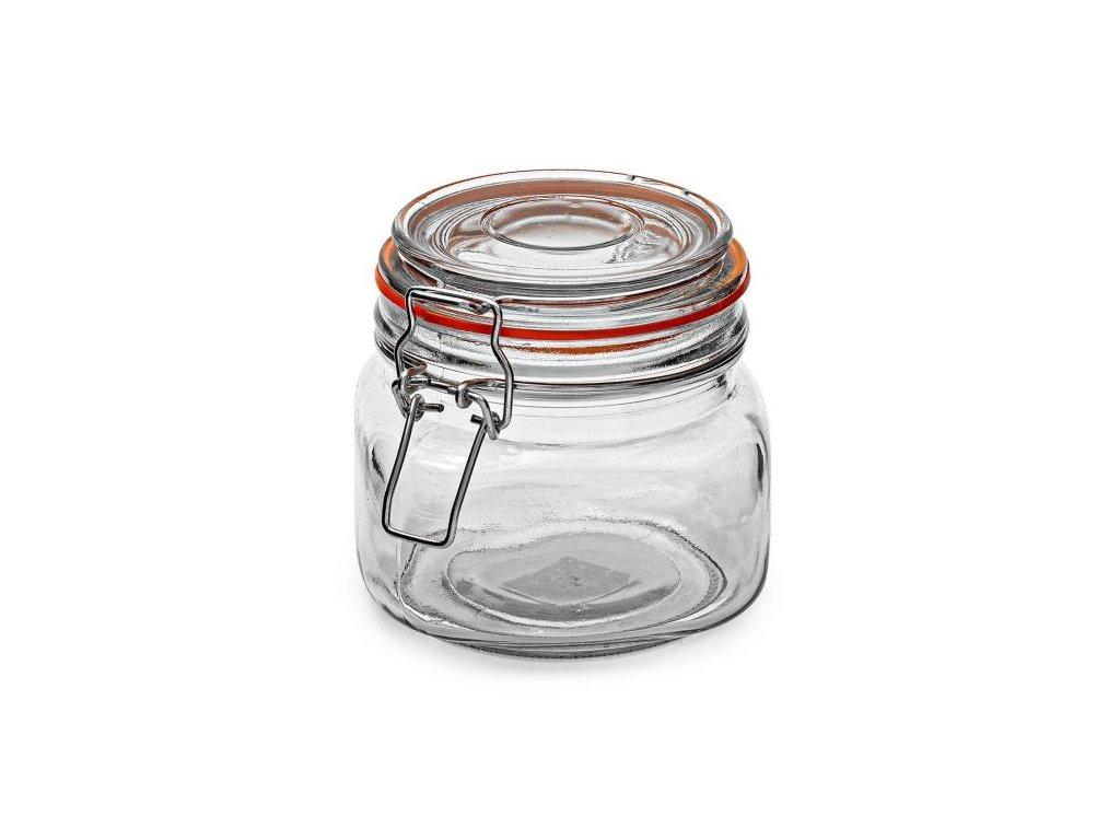 Dóza sklenice patentní 0,5L  KONSERV