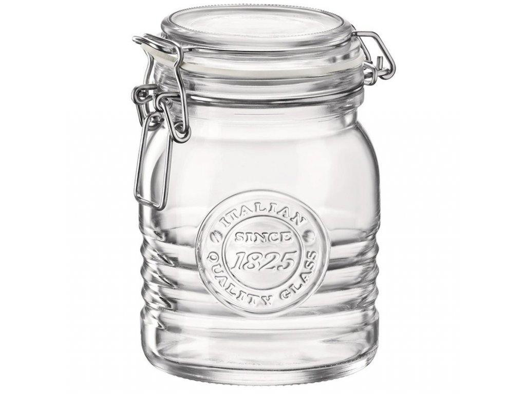 Dóza sklenice patentní 0,5L  OFFICINA