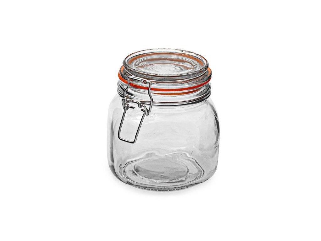 Dóza sklenice patentní 0,75L  KONSERV