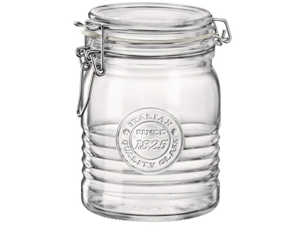 Dóza sklenice patentní 0,75L  OFFICINA