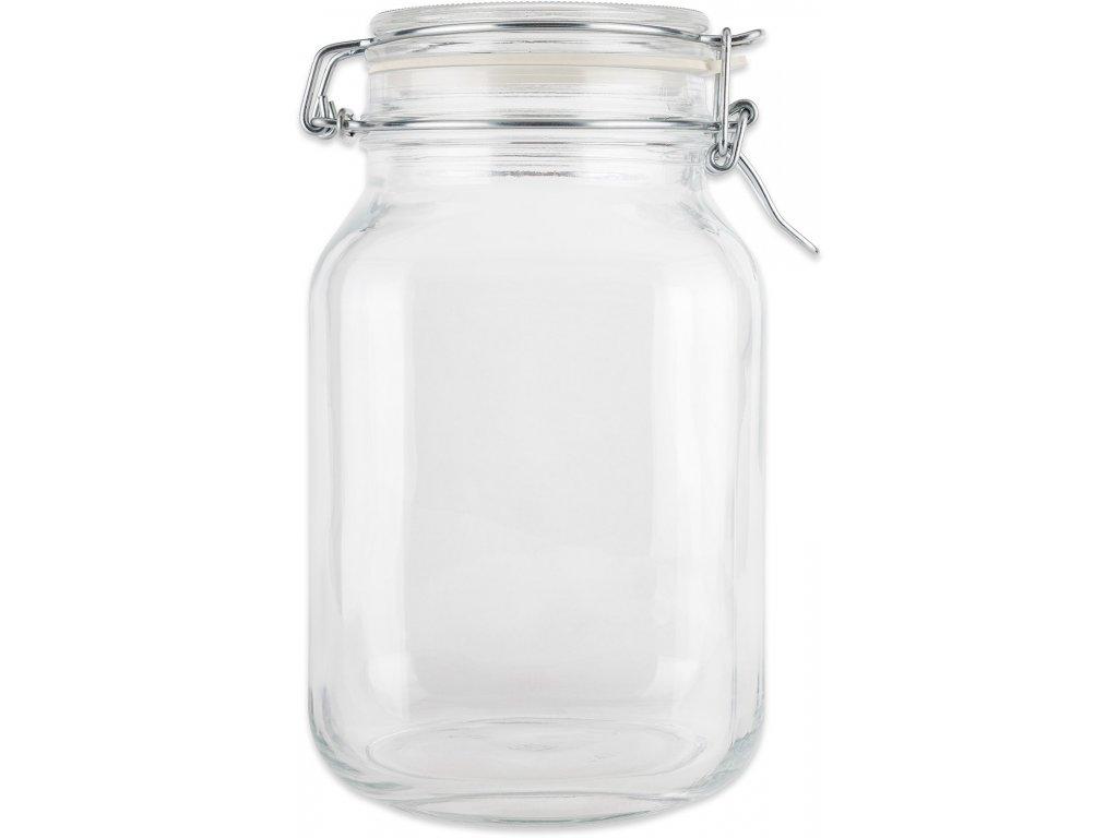 Dóza sklenice patentní 1,5L  SUPER VALUE