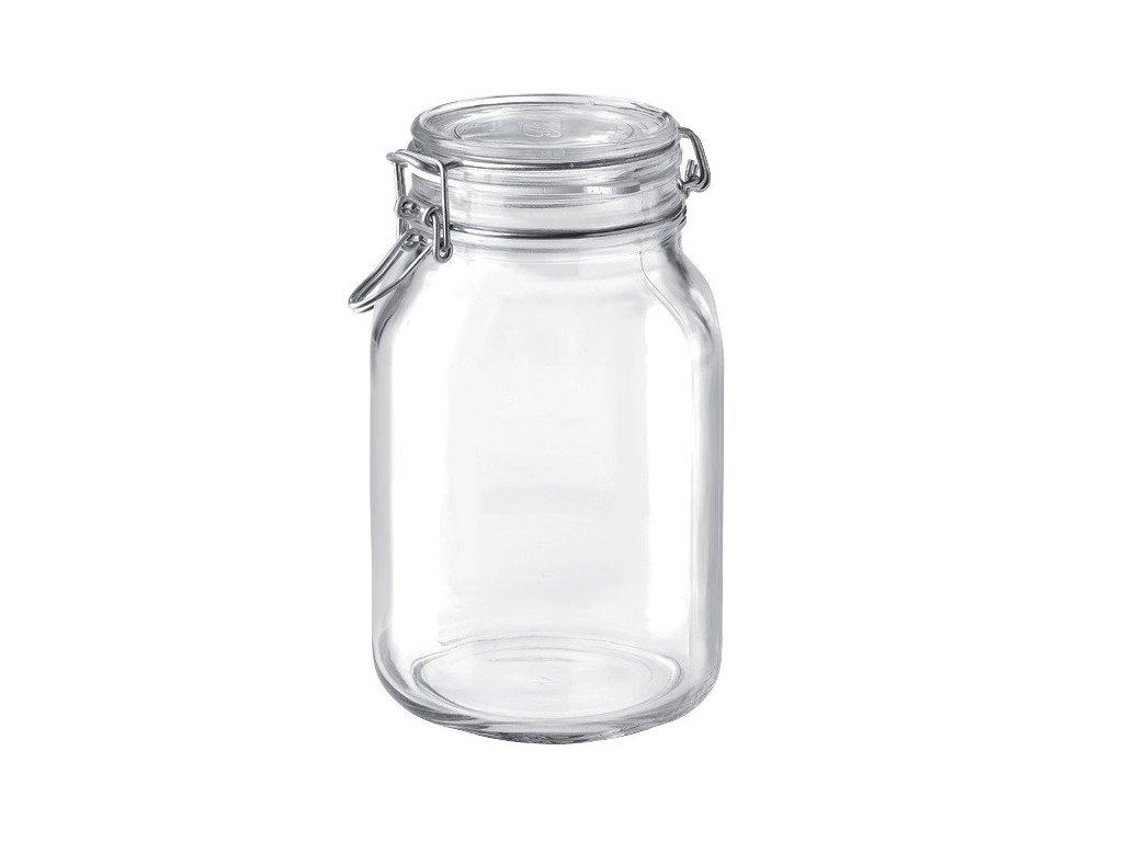 Dóza sklenice patentní 2L  FIDO